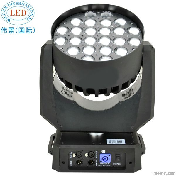 RGBW 4-in-1 LED Zoom Moving Stage Lighting/LED Stage Lighting