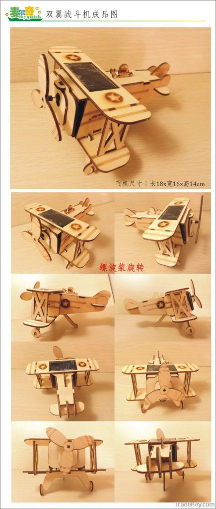 diy solar wooden toys