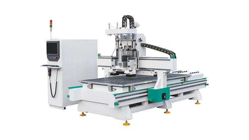 2-Spindle + Drilling System Wood Engraving CNC Router Machine for Wood/MDF Doors