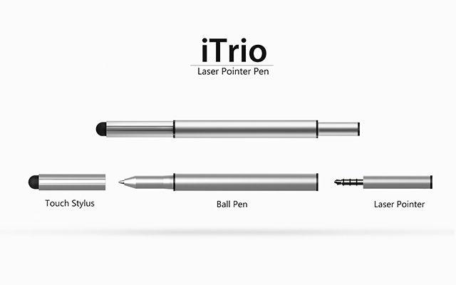 iTrio -Laser pointer pen