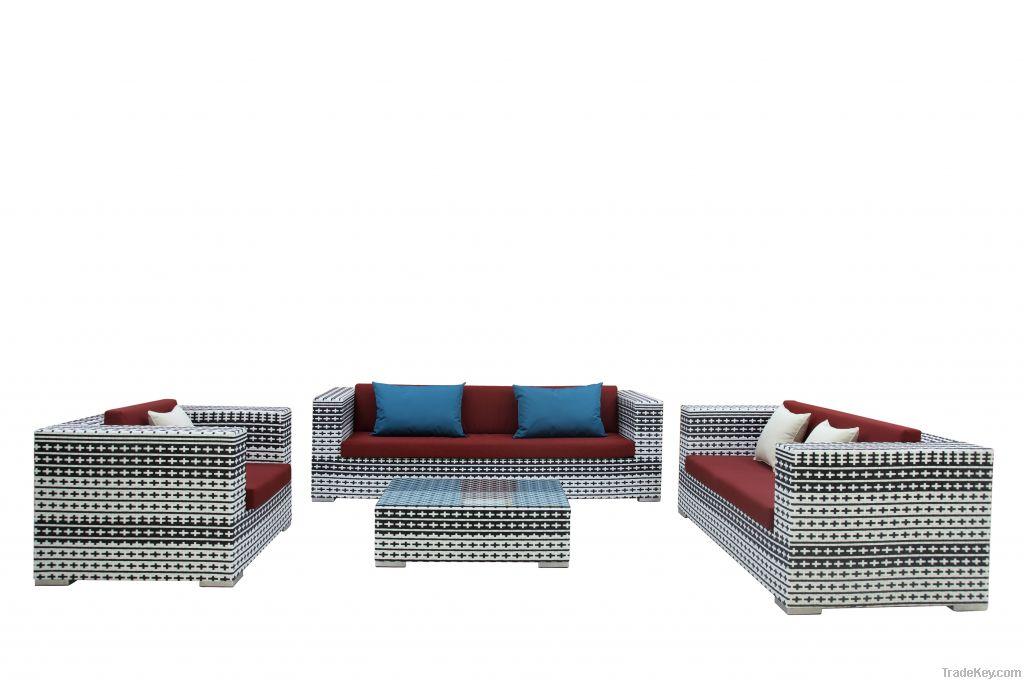 rattan outdoor furniture-Nagoya sofa set