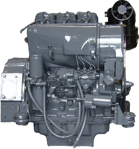 Deutz F3L912 complete diesel and spare parts