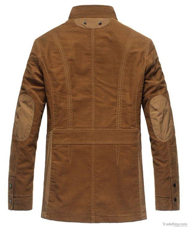 Fashion warm windbreak casual business coats multi-functinal clothing