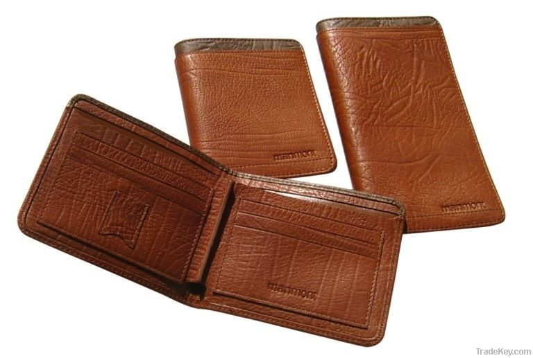 genuine leather wallet , High quality leather men's wallet, purse