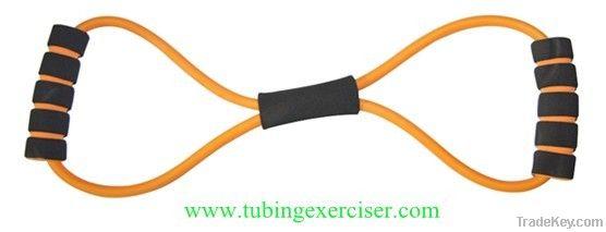 8 shape latex chest expander pull exerciser