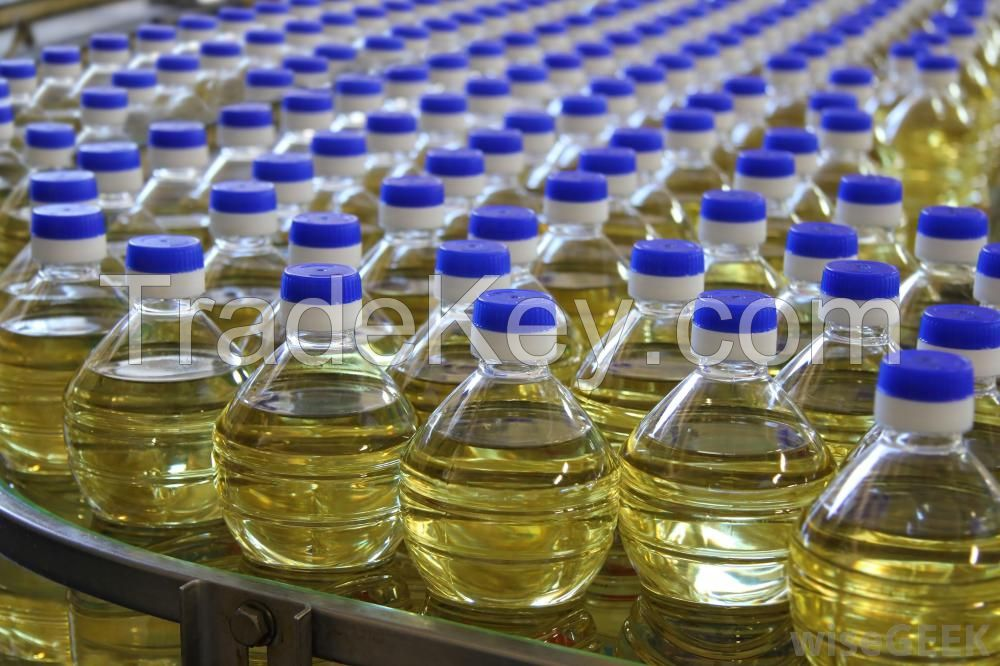 Refined Sunflower Oil with Antifoam