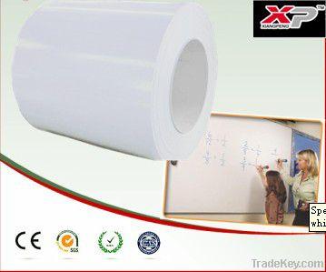 Magnetic whiteboard surface steel sheet for teaching board