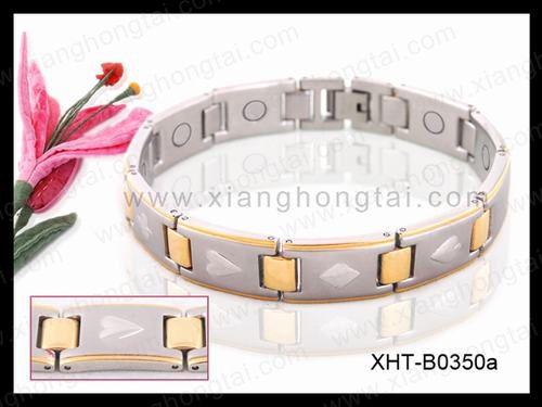 2013 Fashionable FIR /Negative ion/Stainless Steel Magnetic Bracelets