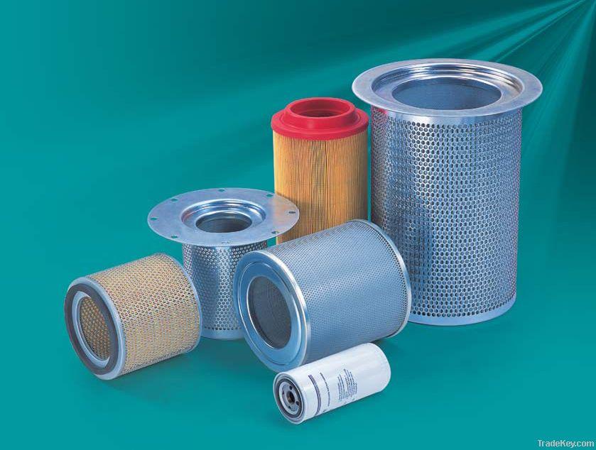 D.K stainless steel oil-air separator element