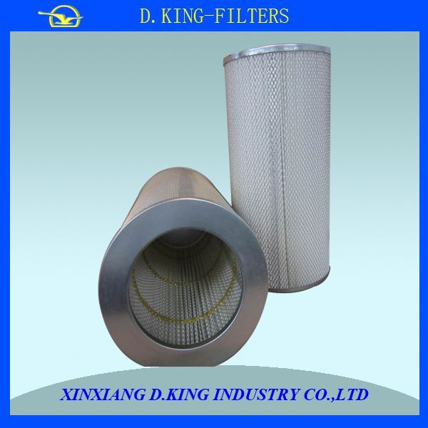 KLX-1800 high flow rate air filter for steel plant
