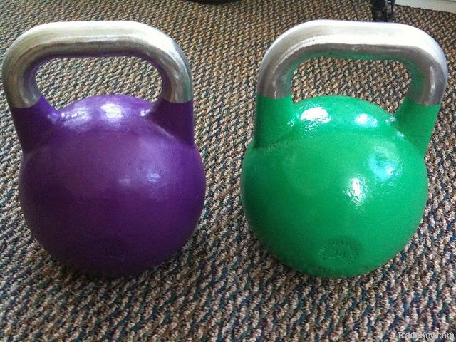 black cast iron kettlebells