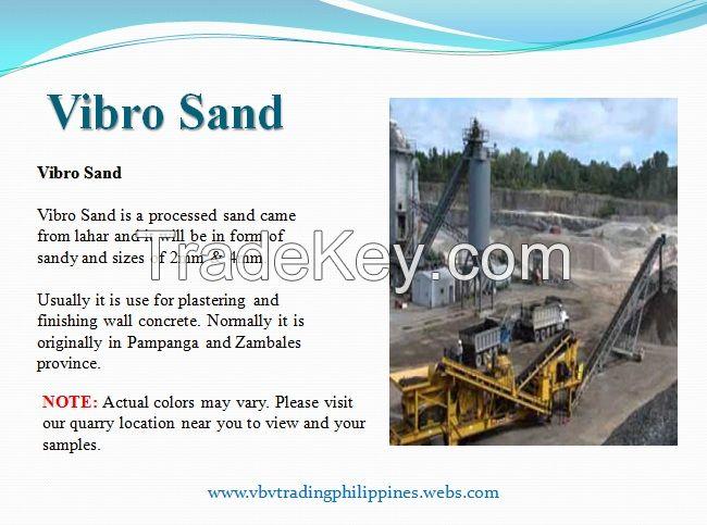 Vibro Manufactured Sand