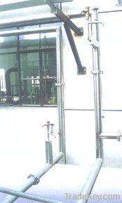 High vacuum multilayer insulation cryogenic liquid pipeline