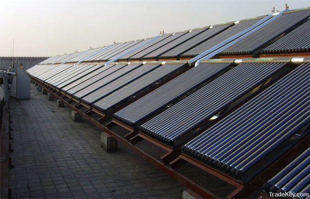 Evacuated tube heat pipe solar collctor