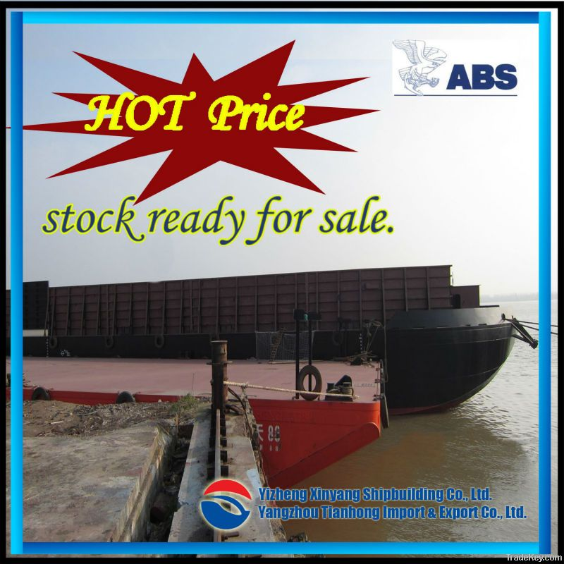 300ft 7700T New Deck Barge Ready for Hot Sale
