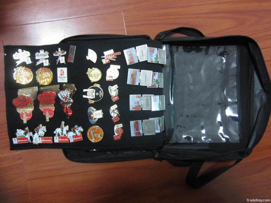 Pin Bag, Pin Trading Bag, Pin Collect Bag, Lapel bag, pin bag