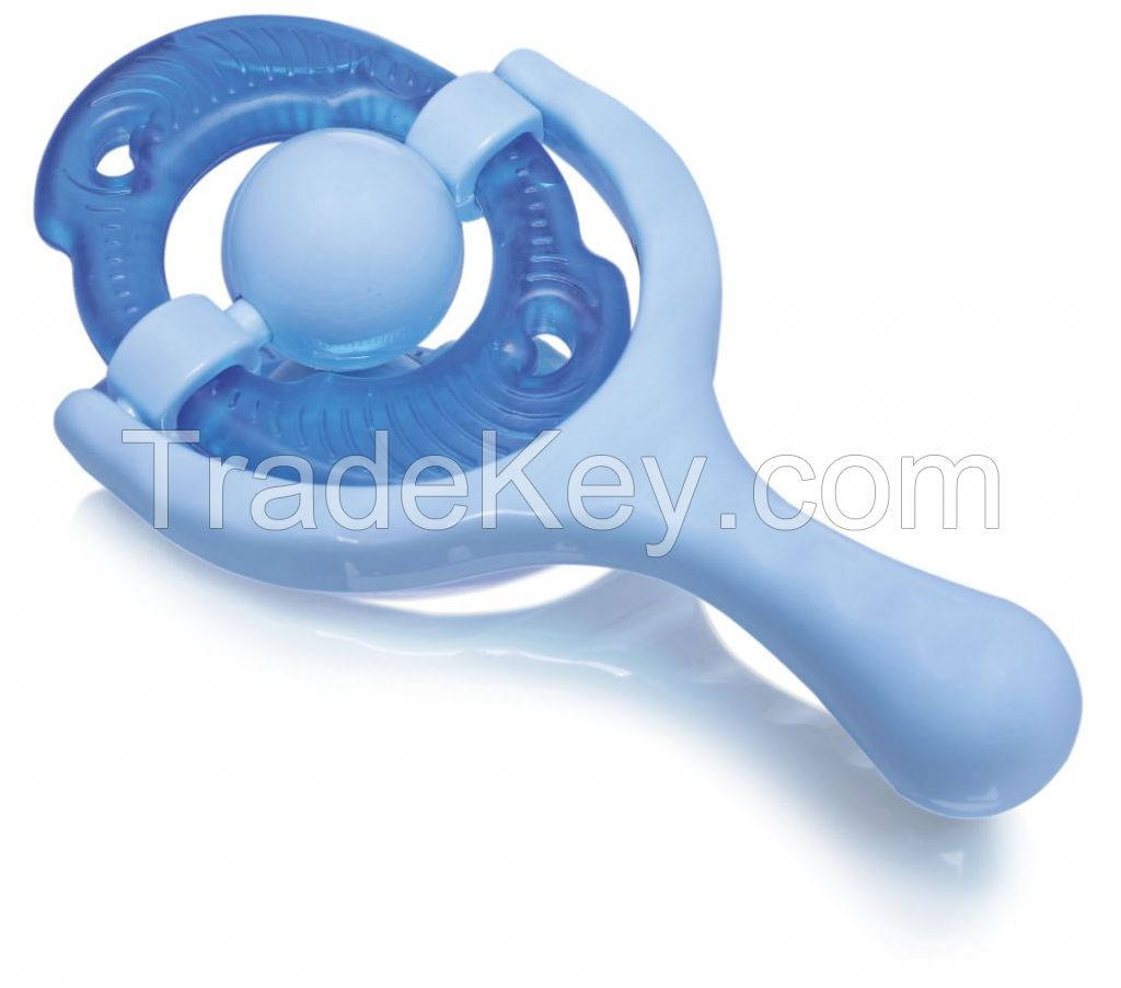 Colorful Baby Teether Rattle Toy