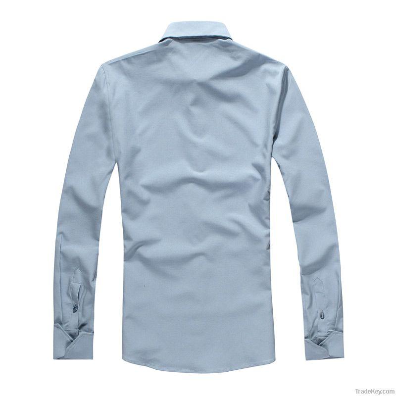 Hot Sale Fit Slim Casual Mens Cotton Shirt