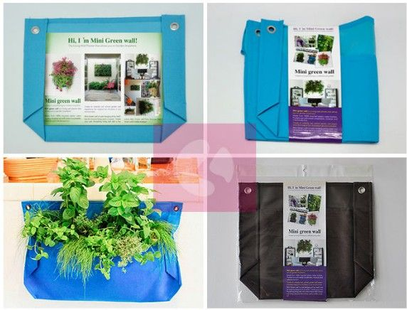 Mini-Greenwall planter -- Bring you not only just fresh air