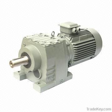 SR Helical Speed Reducer, High Efficiency, Low Noise