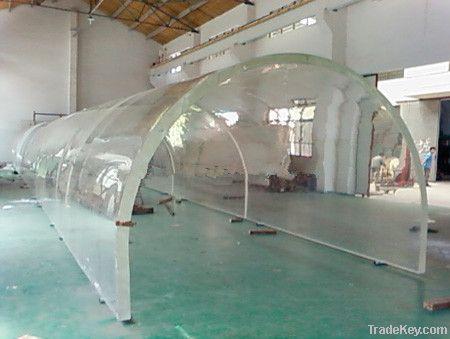 aquarium acrylic sheets transparent fish tank