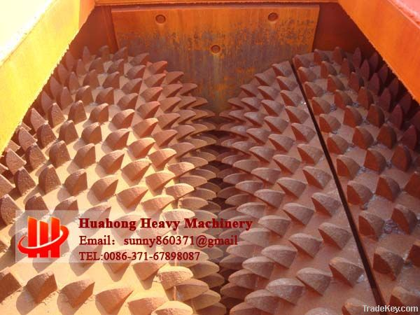 High utilization rate of two teethed roller crusher machine