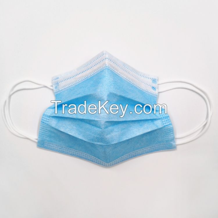 3ply medical surgical face masks with earloop
