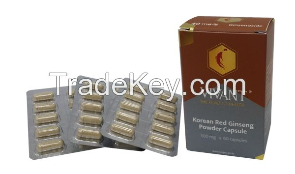 Korean Red Ginseng Powder Capsule - LA VIVANT