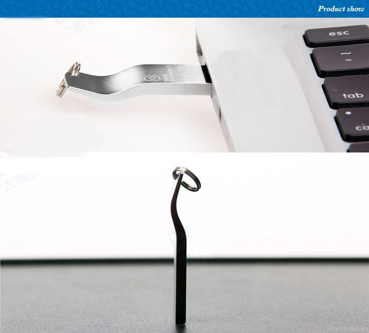 Ultra-thin Portable Waterproof USB 2.0 Flash memory Drive