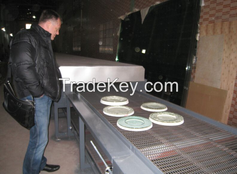 Glass Mosaic High Temperature Glass Melting Furnace