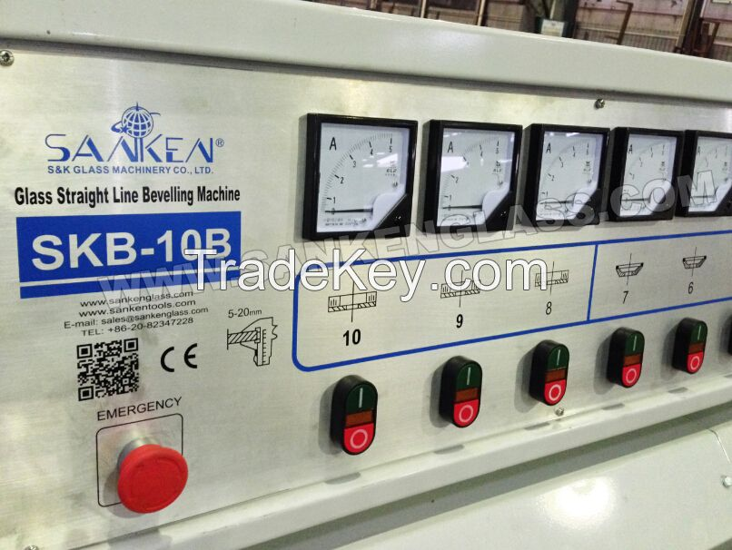 SKB-10B Straight Line Small Glass Beveling Machine