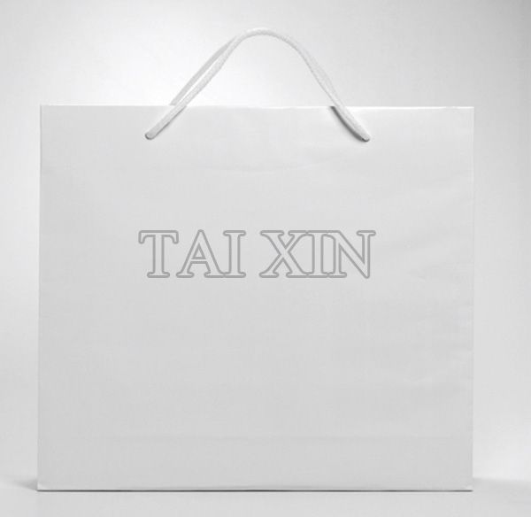 2013 Elegant style and fashionable design packaging paper bag