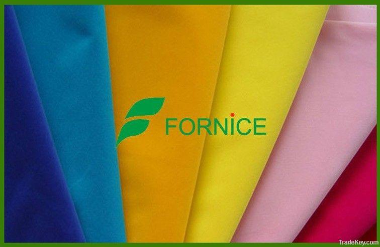100%nylon taffeta flock fabric for package