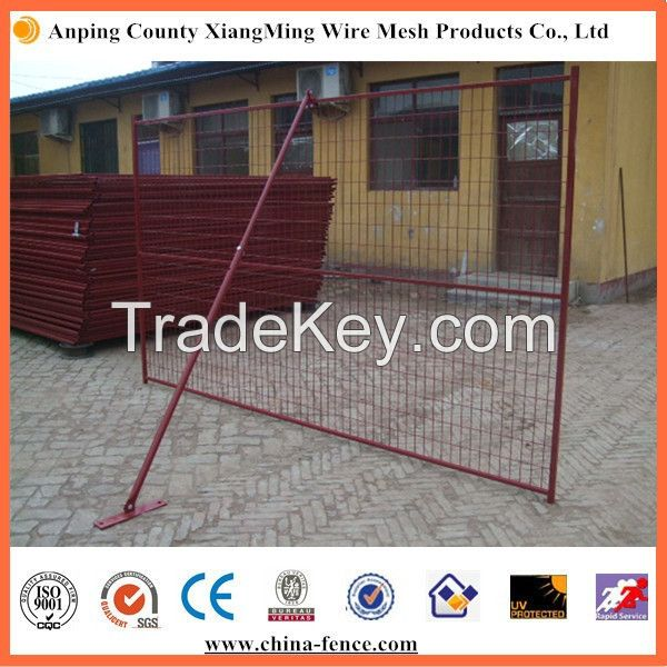 PVC Coated Portable Canada Temporary Fence Price