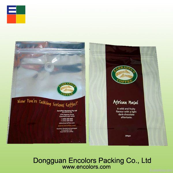 Plastic coffee bag