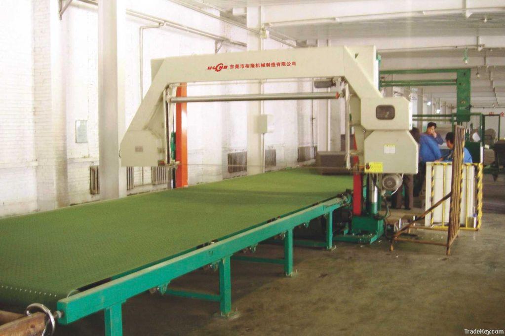 Horizontal Foam Mesh-belt Cutting Machine