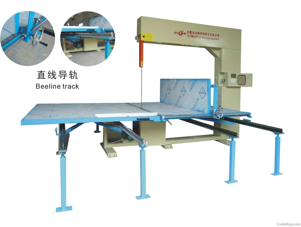 Vertical Foam Cutting Machie