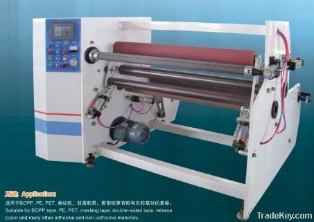 Single shaft auto rewinding machine