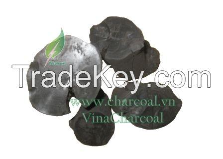 High value calorific 100% natural shisha and BBQ coffee wood charcoal