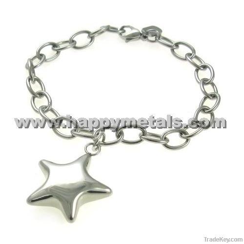 2013 Murano stainless steel bracelets findings (B6009-2)