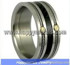 Wholesale stainless steel rings for men R9514