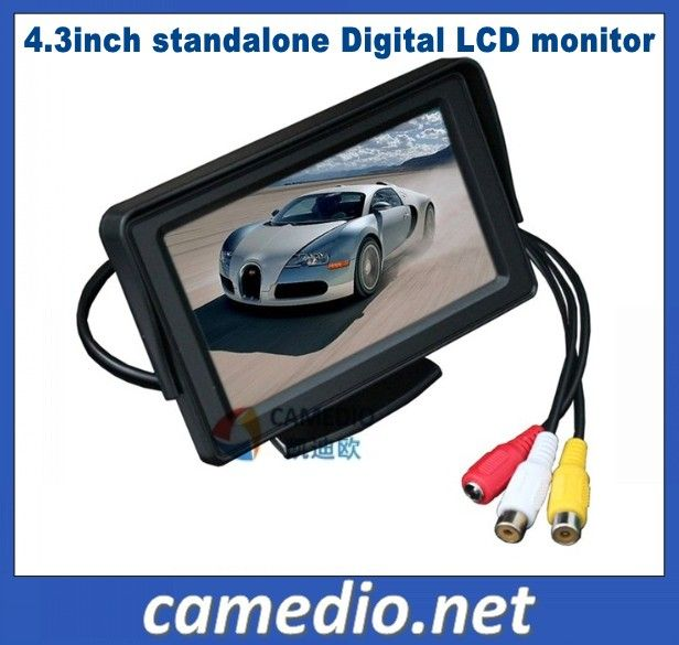 4.3inch Standalone digital car  LCD  rear view monitor M430A