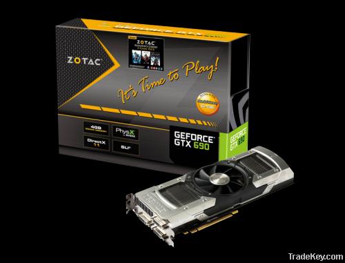 ZOTAC NVIDIA GeForce GTX 690 GTX690 Desktop Graphics Video Card