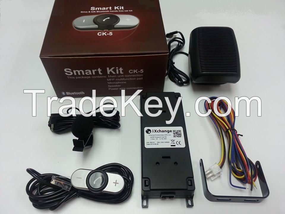 Installation Hands Free Bluetooth Car Kit For Old Cars Without Bluetooth Function