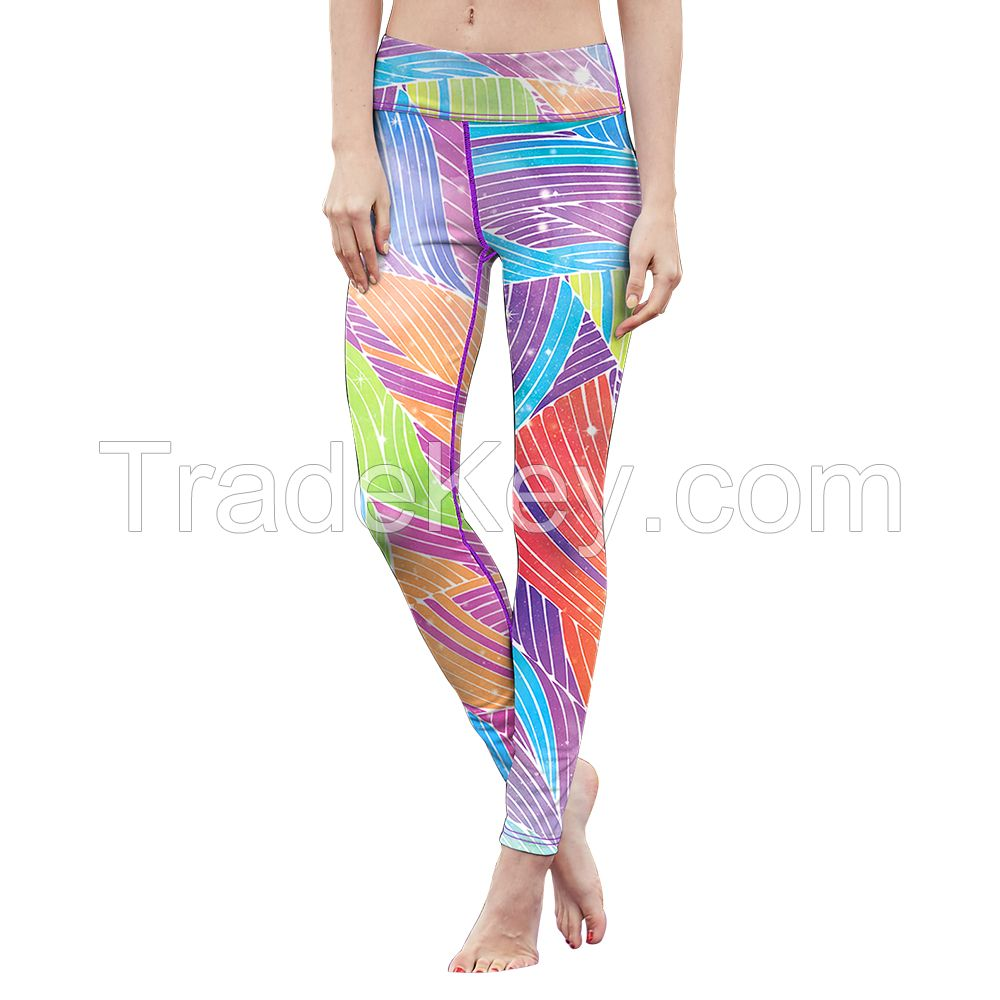 Private Label Customize Compression Woman Fitness Sport Leggings
