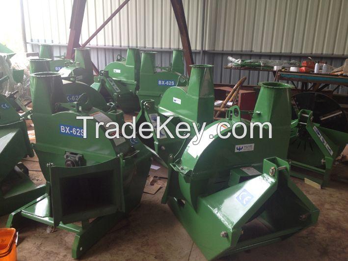 Bx62s Tractor Powered 6'' Diameter Capacity Wood Chipping Machine