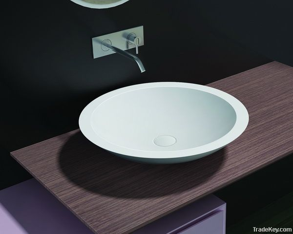 Subline Solid Surface Counter Top Basin PB2057