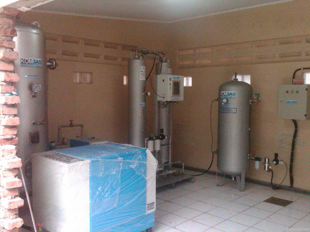 Oxygen generator package