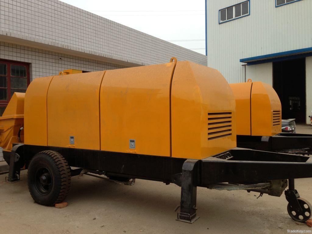 Electric or Diesel Motor Concrete Pump