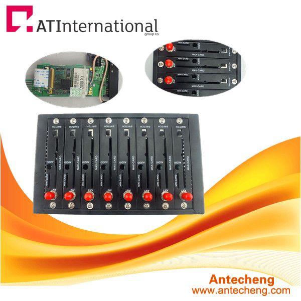 8 sim card modem pool wireless gsm/gprs modem
